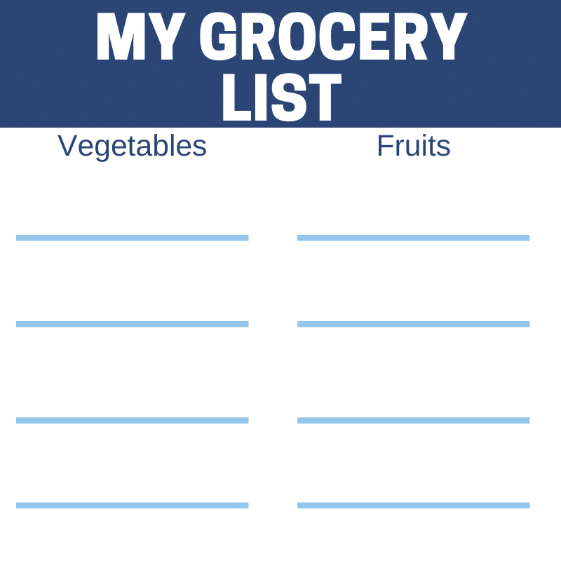 how to lose weigh without counting calories grocery list part 2