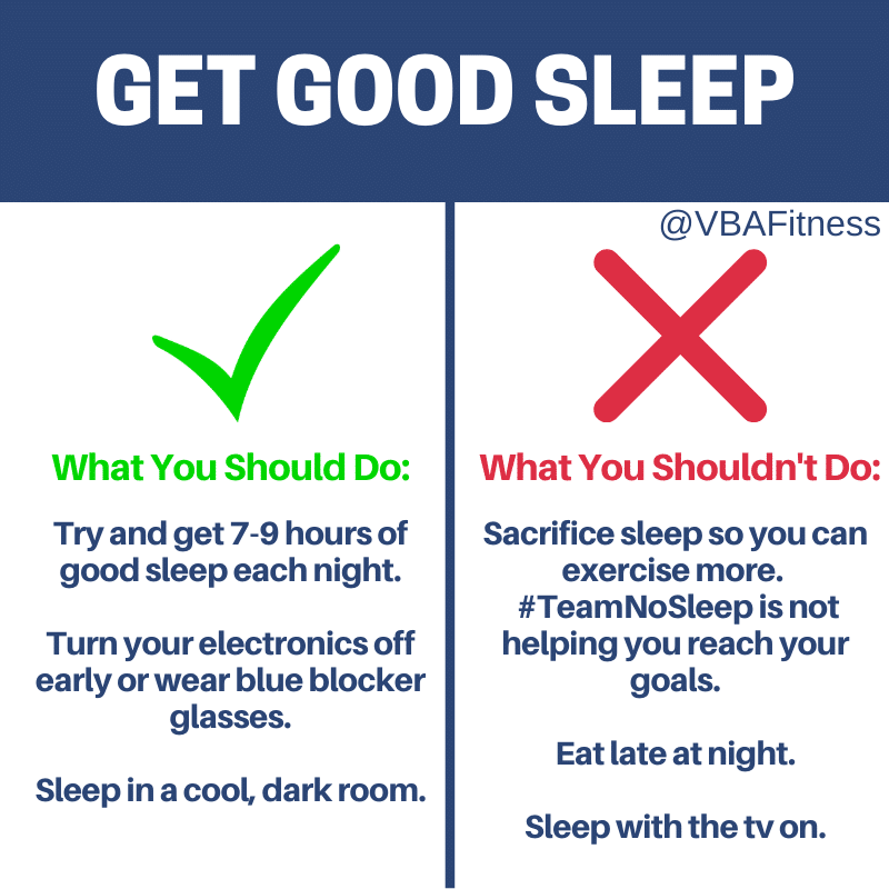 How to achieve weight loss vs fat loss: get good sleep
