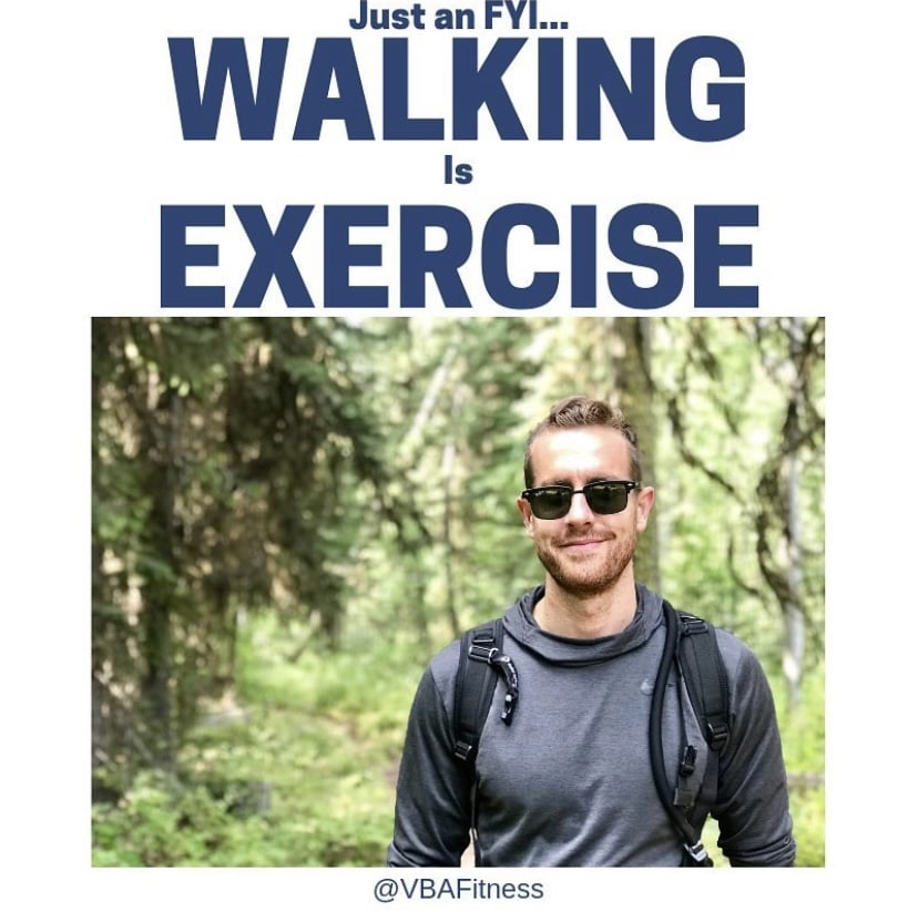 how to lose weight without exercise - go for a walk