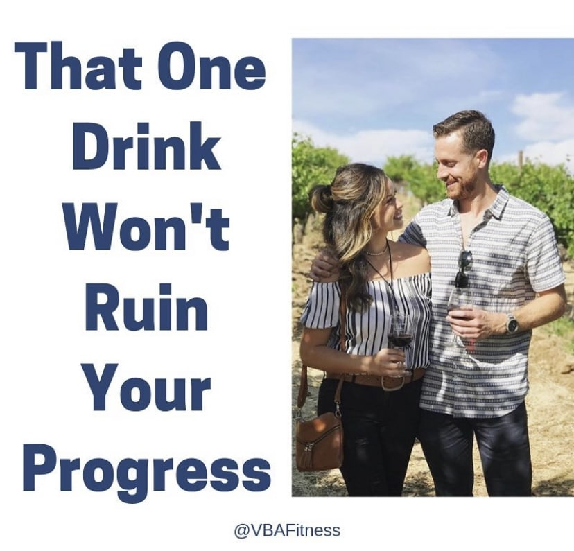 Weight loss tips - alcohol in moderation