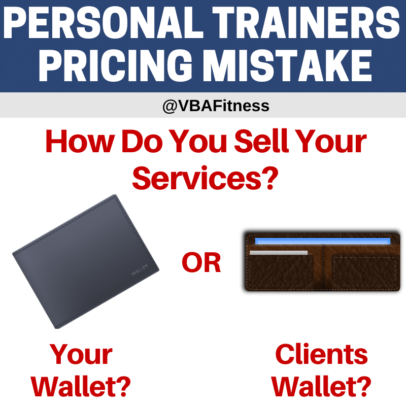 personal trainer consultations pricing mistakes